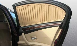 Шторки на окна авто штраф — можно ли устанавливать на передние стекла?