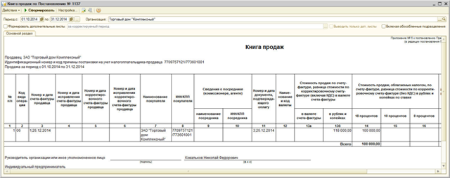 Как налоговому агенту зарегистрировать счет-фактуру в книге покупок и книге продаж