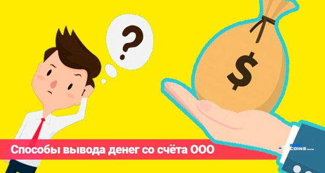 Как выводить деньги с ООО: пошаговая инструкция