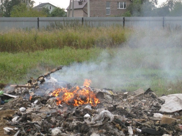 Ответственность за сжигание мусора - Правовой мир