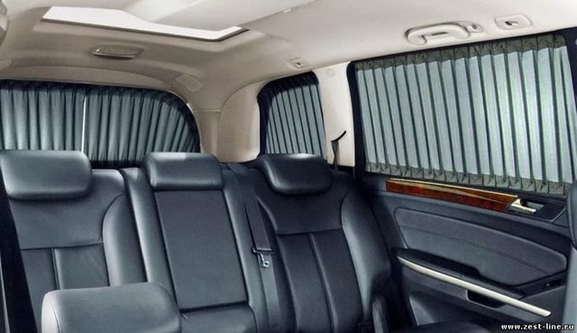 Шторки на окна авто штраф - можно ли устанавливать на передние стекла?