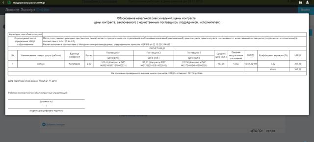 Порядок расчета цены контракта по 44 ФЗ с учетом предложения участника закупки о снижении НМЦК по итогам проведения совместного аукциона