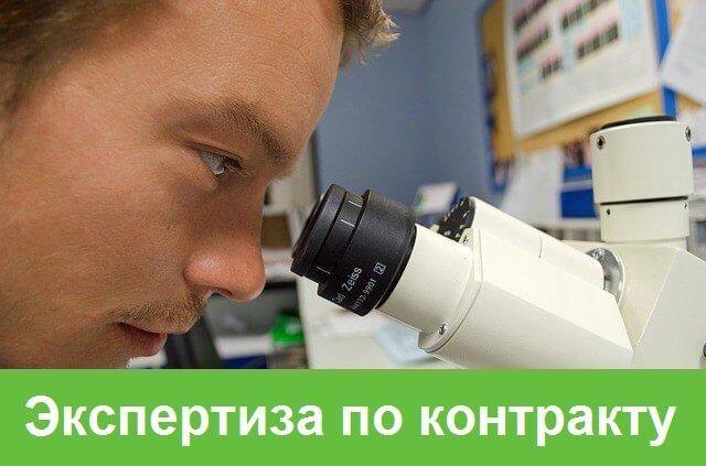 Проведение экспертизы результатов по контракту силами заказчика по 44 ФЗ