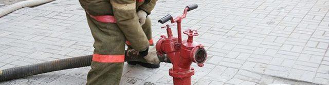 Акт проверки пожарных гидрантов - образец